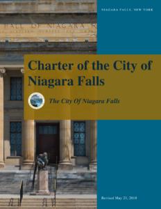 Niagara Falls City Charter Cover Image