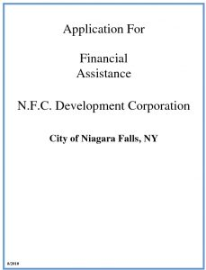 Icon of 2010 APPLICATION FOR LOAN-GRANT FINANCIAL ASSISTANCE