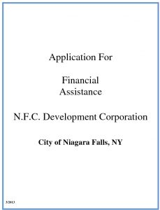 Icon of 2014 APPLICATION FOR LOAN GRANT FINANCIAL ASSISTANCE