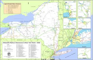 Icon of Fig 21 - 2008 NYS Rail Clearances