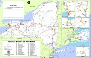 Icon of Fig 22 - 2008 NYS Rail Taxable Status