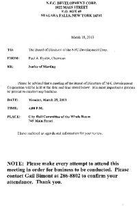 Icon of 03-25-13 NFC Meeting Agenda