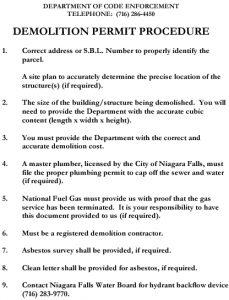 Icon of Demolitionpermitprocedure