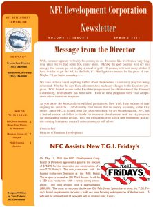 Icon of NFC Publication Spring 2011