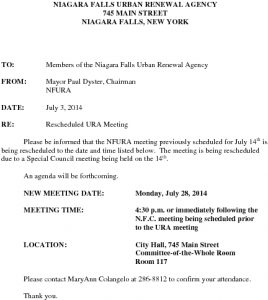 Icon of Ura Rescheduled Meeting 7 14 2014