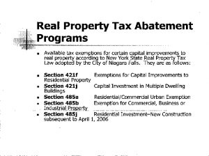 Icon of Tax Abatement Programs