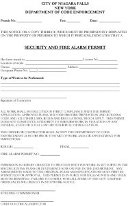 Icon of Fire Alarm Permit