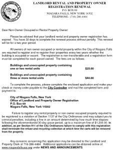 Icon of Landlord Licensing / Property Owner Registration Renewal Application