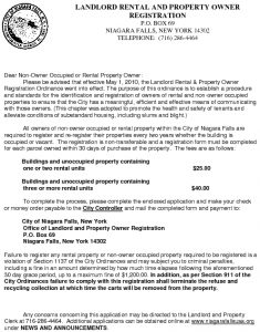 Icon of Landlord Licensing / Property Owner Registration Application