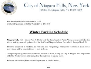 Icon of WinterParkingSchedule