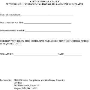 Icon of Complaint Withdrawal Form