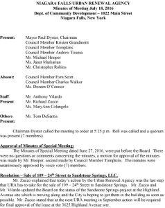 Icon of 07-18-16 NFURA Minutes
