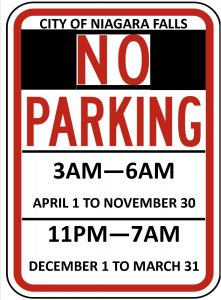 Icon of Winter Parking Schedule JPEG