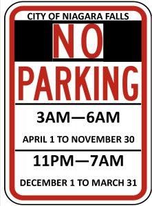 Icon of Winter Parking Schedule JPEG