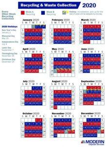 Icon of 2020 NF Calendar