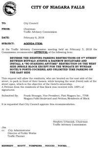 Icon of Council Agenda FEB NO STANDING - 4th St - Wingate#5