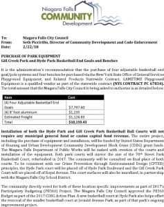 Icon of Hyde Park And Gill Creek Park Basketball Courts Council Agenda Item EQUIPMENT 2 22 2018#3
