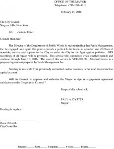 Icon of Pothole Killers - Patch Management Funding Agreement#6