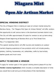 Icon of Niagara Mist Open Air Market1#17