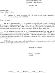 Icon of Parking Agreement With NTCC#4