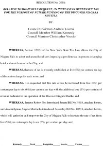 Icon of #8 Occupancy Tax Increase Resolution