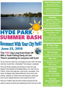 Icon of Hyde Park Summer Bash Flyer