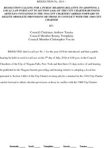 Icon of #10 Public Hearing - City Charter