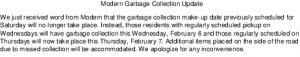 Icon of Modern Garbage Collection Update