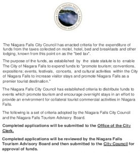 Icon of Tourism Funds Application