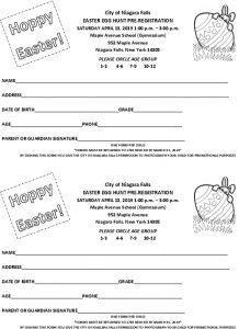 Icon of Registration Form Hoppy Easter 4 13 19