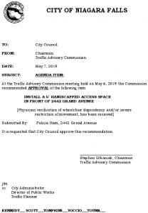 Icon of #11 Council Agenda MAY Handicap - 2442 Grand Ave