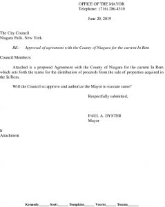 Icon of #3 Agreement With County For Current In Rem