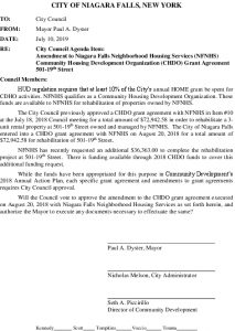 Icon of #3.2019-07-10 - CD - Re Amendment To 501-19th Street CHDO Grant Agreement - SUBMISSION