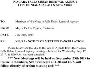 Icon of URA MeetingCancel71719