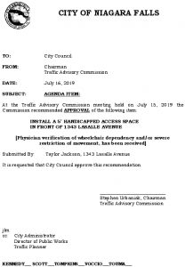 Icon of #12 Council Agenda JULY Handicap - 1343 Lasalle Ave