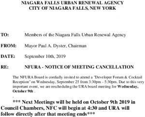 Icon of URA  Meeting Cancel 9 25 2019