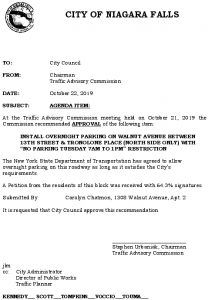 Icon of #10 Council Agenda OCT Overnight Parking - Walnut Ave (13th-Tronolone Pl) - Copy - Copy