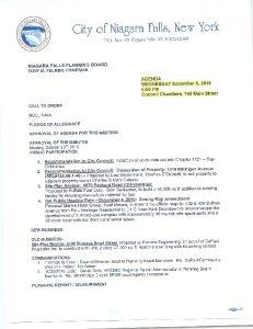 Icon of Nov 6 PB Agenda