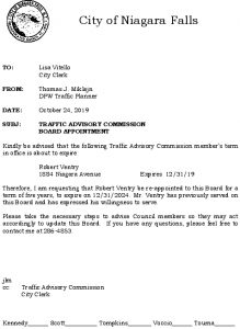 Icon of #12 Re-appointment Letter - Robert Ventry 10242019