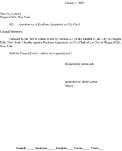 Icon of #1 City Clerk - Appointment