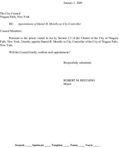 Icon of #2 City Controller - Appointment