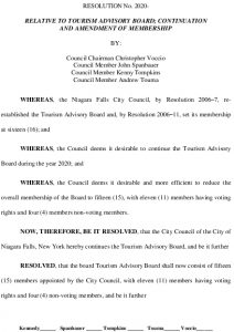 Icon of #9 Resolution Tourism Continuation Amendment