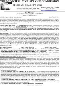Icon of TST ANN Secretary NFHA Exam #68-601 OC