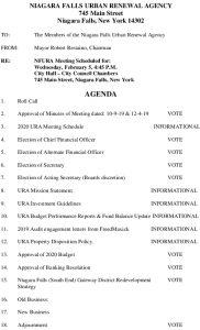Icon of Agenda URA 2020