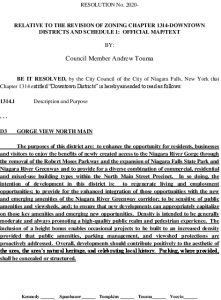 Icon of #12 Revise Zoning Chapter 1314 - Resolution