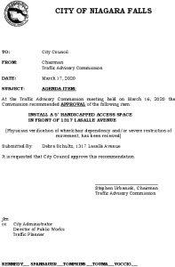 Icon of #8 Council Agenda MARCH Handicap - 1317 Lasalle Avenue