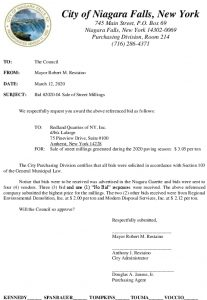 Icon of #2 Sale Of Street Millings Bid #2020-04 Council Agenda Item