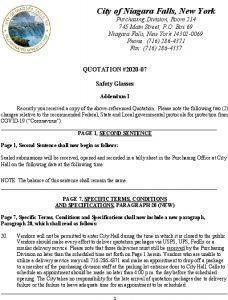Icon of QUOTATION 2020-07 Safety Glasses Addendum I
