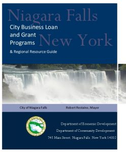 Icon of CNF Business Loan And Grant Programs Resource Guide