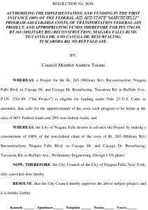 Icon of #10 Resolution - 5761.89 Military, NF Blvd, Cayuga, Tuscarora
